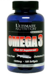 Omega 3 (180 капс), Ultimate Nutrition