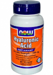 Hyaluronic Acid 100 мг (60 капс), NOW Foods