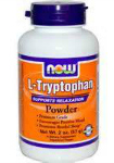 L-Tryptophan Powder (57 гр), NOW Foods