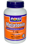 Melatonin 3 мг (180 капс), NOW Foods