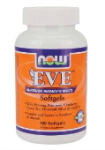 Eve Womens MultiVitamin softgels (180 капс), NOW Foods