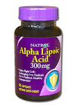 Alpha Lipoic Acid 300 mg (50 капс), Natrol
