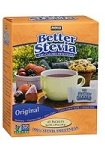 Better Stevia (45 пак), NOW Foods