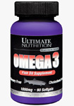 Omega 3 (90 капс), Ultimate Nutrition